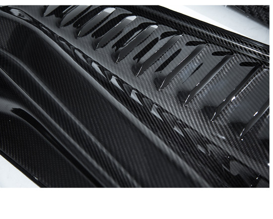 AP-F458-630-HBFV Carbon Fiber Engine Panels 10-15 Ferrari 458 Agency Power