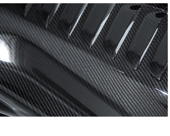 AP-F458-640-HBFV Carbon Fiber Engine Panels and Under Screen Panel 10-15 Ferrari 458 Agency Power