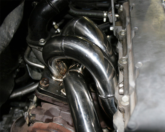 AP-CZ4A-175-HBFV Stainless Steel Header 08-15 Mitsubishi EVO X Agency Power