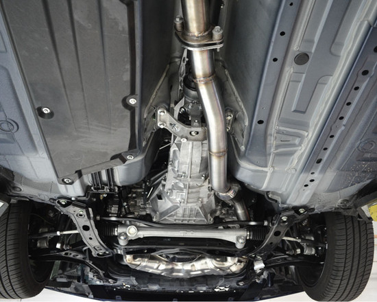 AP-FRS-171-HBFV Over Pipe and Front Pipe Scion FR-S | Toyota GT-86 | Subaru BRZ 13+ Agency Power