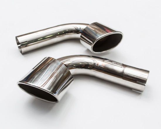 AP-996-171S-HBFV Stainless Steel Exhaust Bypass Tips 98-05 Porsche 996 C2 | C4 Agency Power