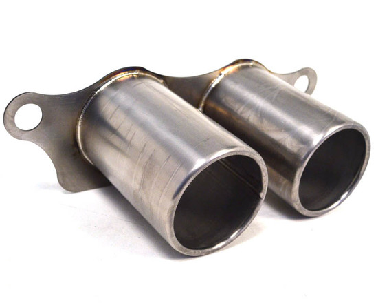 AP-997GT3-171TI-HBFV Titanium Exhaust Brushed Tips 07-11 Porsche 997 GT3 GT3RS Agency Power