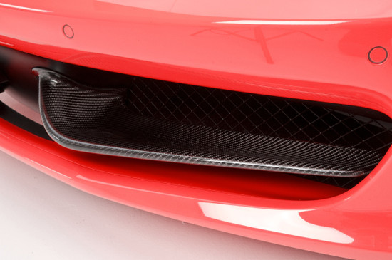 AP-F458-605-HBFV Agency Power Carbon Fiber Front Wings Ferrari 458