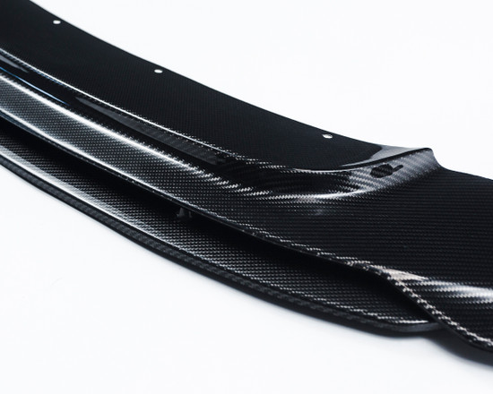 AP-F87M2-600-HBFV Agency Power Carbon Fiber Front Lip Spoiler BMW F87 M2