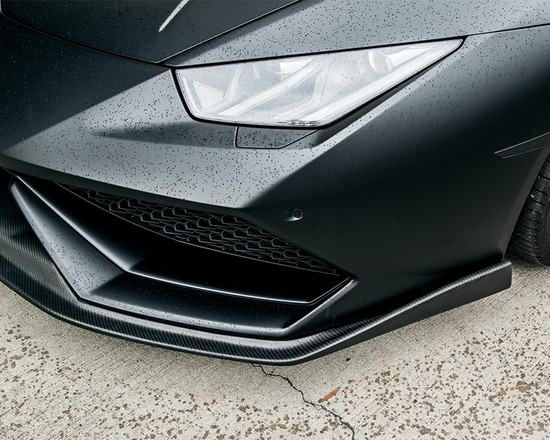 AP-LP610-600-HBFV Aeroform Carbon Fiber Front Lip Lamborghini Huracan LP-610 15-17 Agency Power