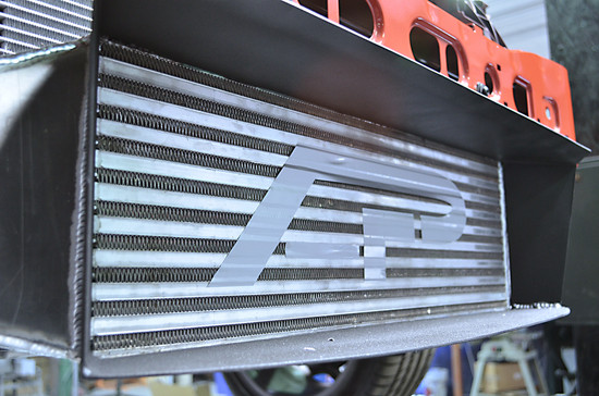 AP-FST-108-HBFV Intercooler Upgrade w/Ducting 600hp Rated 13-17 Ford Focus ST Agency Power
