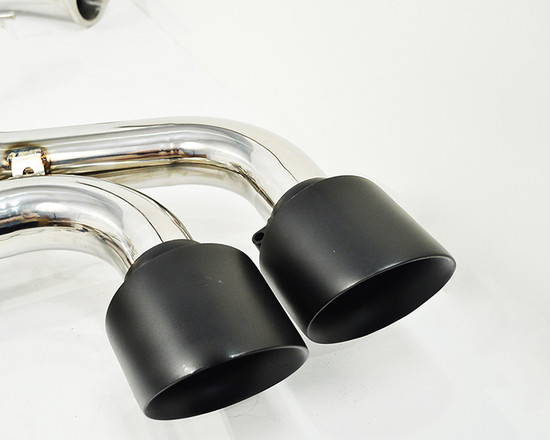 AP-GTR-170MB-HBFV Electronic Valve Controlled Exhaust Muffler W/Mid Y Pipe 09-17 Nissan GT-R R35 Agency Power