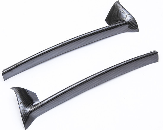AP-987-611-HBFV Carbon Fiber Rear Lip Porsche Cayman Agency Power