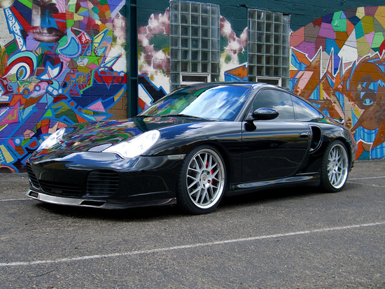 AP-996TT-605-HBFV Carbon Fiber Aero Kit Style Front Lip Spoiler Porsche 996 Turbo C4S Agency Power