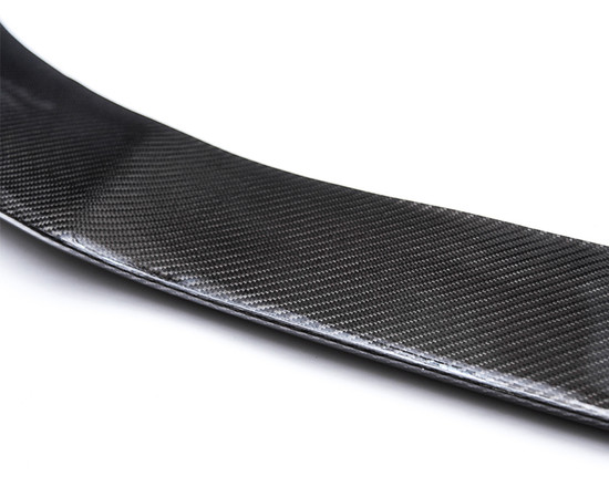 AP-CLA-600-HBFV Carbon Fiber Front Lip Cover Mercedes-Benz CLA250 Agency Power