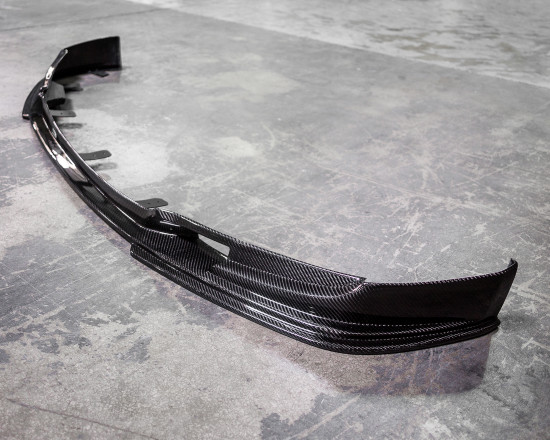 AP-F10M5-600-HBFV Carbon Fiber Front Lip Spoiler 12-17 BMW M5 F10 Agency Power