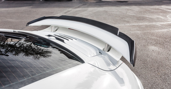 AP-991TT-610-HBFV Aeroform Carbon Fiber Wing Lip Spoiler Porsche 991 Turbo | Turbo S Agency Power