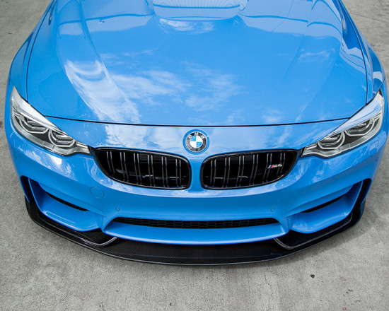 AP-F8XM-601-HBFV Aeroform Carbon Fiber 3 Piece Front Lip 15-17 BMW F82 F80 M4 M3 Agency Power