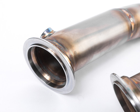 AP-F80M-171-HBFV High Flow Race Stainless Steel Down pipes BMW M3 F80 | M4 F82 | F83 Agency Power