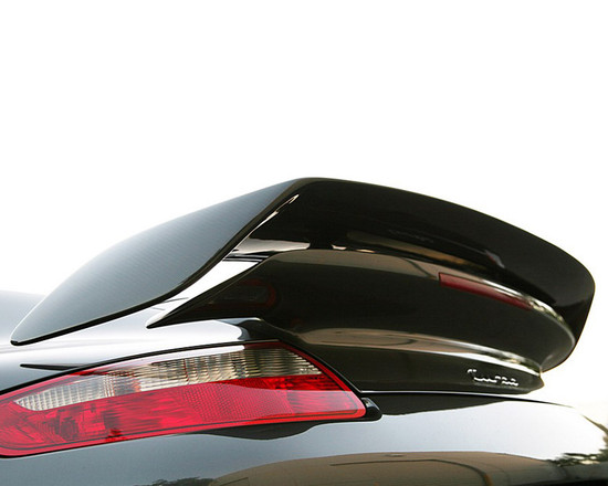 AP-997TT-610-HBFV Carbon Fiber GT2 Style Add-on Rear Wing 07-13 Porsche 997 TT Agency Power