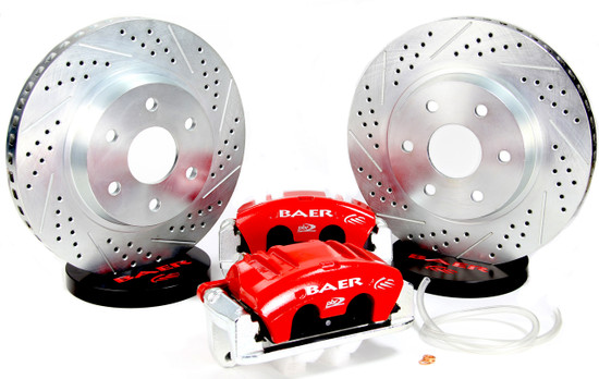 Baer Brake Systems 4301038 Disc Brake Caliper / Rotor / Pad Kit Front 2000-2018 GM SUV C/K 1500 All