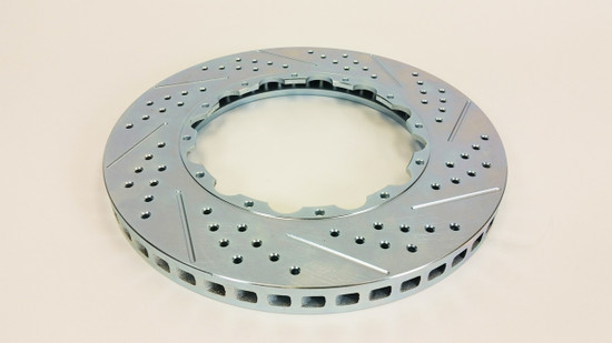 "Baer Brake Systems 6919272 Disc Brake Rotor Left - Replacement Rotor 13.85""x1.250"", 12 on 7.5"" BC, w/step"