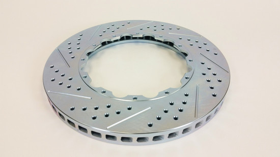 "Baer Brake Systems 6929272 Disc Brake Rotor Right - Replacement Rotor 13.85""x1.250"", 12 on 7.5"" BC, w/step"