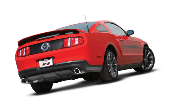 Borla 60513 Exhaust Pipe 2011-2014 Ford Mustang GT 5.0L V8/ 2011-2012 Shelby GT500 5.4L V8 SC Automatic/ Manual Transmission Rear Wheel Drive 2-Door Coupe/Convertible