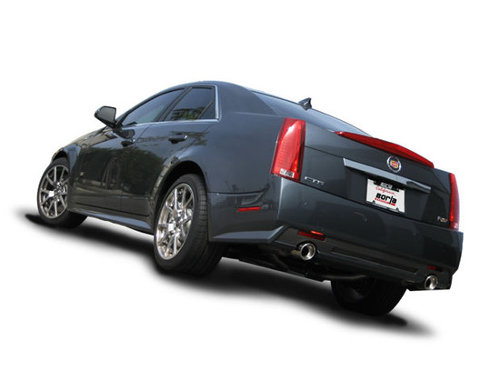 Borla 60524 Exhaust Pipe 2009-2015 Cadillac CTS-V Coupe/Sedan 6.2L V8 Automatic/ Manual Rear Wheel Drive 2-4-Door