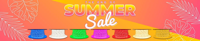 End of Summer Strip Light Sale - 20% off 65ft Spools!