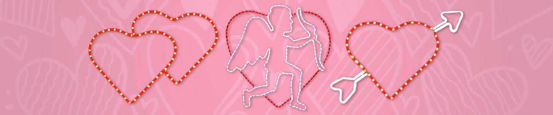 Valentines Day Motifs