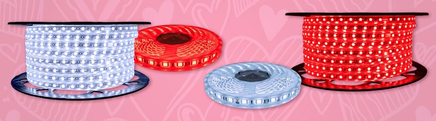 Valentines Day LED Strip Lights