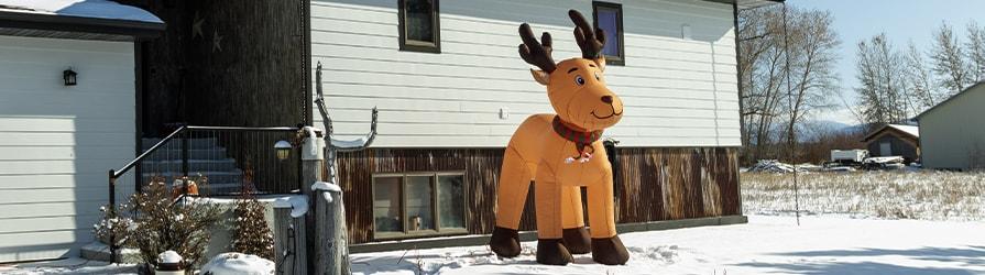 LED Christmas Inflatables