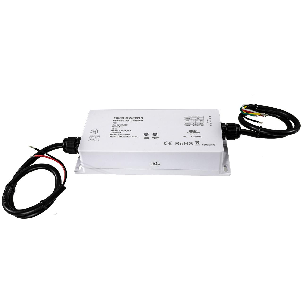 50w Rgb Led Flood Light Outdoor Spotlights Cord Plug Wire Remote
