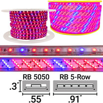 120 Volt LED Strip Grow Lights