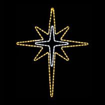 Star Rope Light Motifs