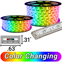 120 Volt LED RGB Strip Lights