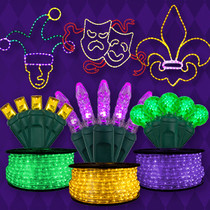 Mardi Gras Lights