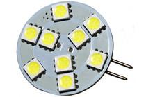 9 LED 12 Volt G4(Side) Bulb (120deg)