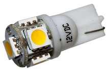 5 LED 12 Volt Wedge Bulb (360deg)