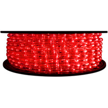 148' Red LED rope light spool. 120 Volts. Brilliant Brand. 1/2