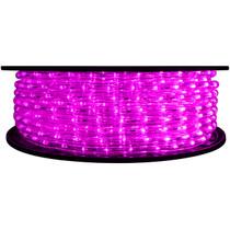 Fuchsia LED Rope Light - 120 Volt - 148 Feet