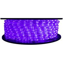 Purple LED Rope Light - 120 Volt - 148 Feet