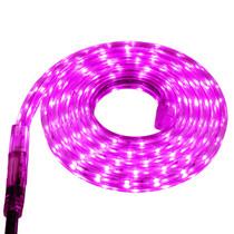 Pink LED Strip Light - 120 Volt - High Output (SMD 3528) - Custom Cut