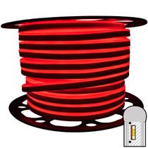 148ft red smd led neon strip light spool - 120 volt