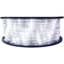 Cool White 5 Inch Wide Spacing LED Rope Light - 120 Volt - 148 Feet - C7/C9 Alternative