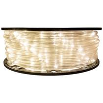 Warm White 5 Inch Wide Spacing LED Rope Light - 120 Volt - 148 Feet - C7/C9 Alternative