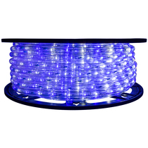 25% Off 2 Color Blue & Cool White LED Rope Light - 120 Volt - 148 Feet