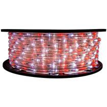 2 Color Red & Cool White LED Rope Light - 120 Volt - 148 Feet
