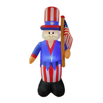 6 Foot July 4th Patriotic Uncle Sam Inflatable
