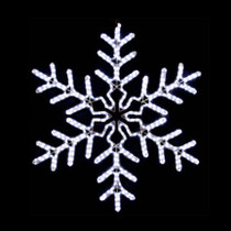 25% Off Snowflake Rope Light Motifs