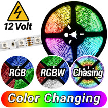 12 Volt LED RGB Strip Lights