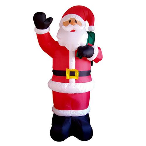 8 foot waving santa led christmas inflatable