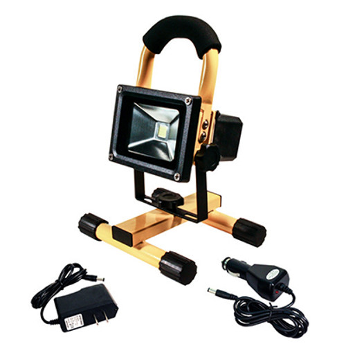 10w cool white rechargeable high output led flood light