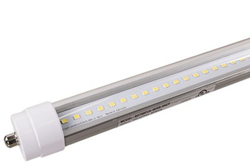 8 foot LED T8 Tube Light - Plug & Play